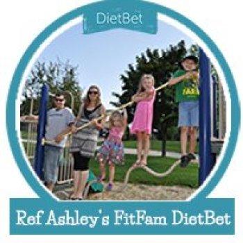 Ref Ashley's FitFam DietBet