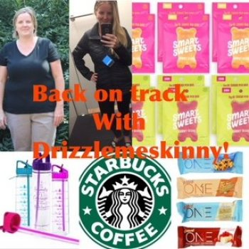Back on track with Drizzle me skinny!