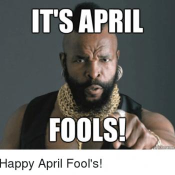 April Fool's Fat Fighter