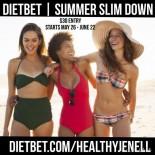 Summer Slim Down with healthyJenell