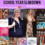 Maranda's School Year Slimdown